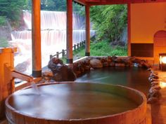 土湯温泉 Tsuchiyu Onsen, Japan