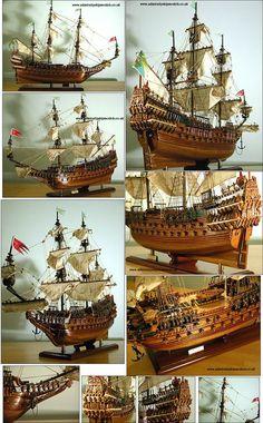 Admiralty Ship Models Ltd Wasa 1627 Model Sailing Ships, Old Sailing Ships, Vasa Ship, Model Warships, Scale Model Ships, Model Ship Building, Boat Art, Wooden Ship, Tall Ships