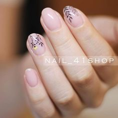 Cute Nail Designs with Fragile Flowers picture 2 Pink Nail Designs, Simple Nail Designs, Diy Nails, Cute Nails, Bright Nail Art, Nagel Blog, Trendy Nail Art, Heart Nails, Flower Nail Art