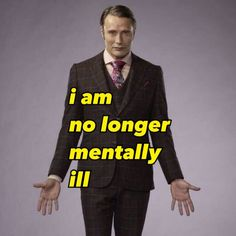 Hannibal Series, Nbc Hannibal, Hannibal Lecter, Mtv, Fb Memes, Funny Memes, Mads Mikkelsen, Cry For Help, Humor