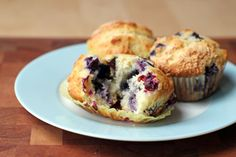 Grammy McCarthy's Blueberry Muffins by thisweekfordinner #Blueberry #Muffins #thisweekfordinner