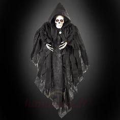 Fantôme noir aux yeux rouges, référence 4523016 - Décoration et lumières pour Halloween chez Luminaire.fr !