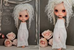 Pre- Order~ from the 'Hopeless Romantic' Collection- Bohemian Overalls for Blythe Dolls