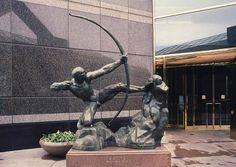 Antoine Bourdelle Antoine Bourdelle, Crow, Statue Of Liberty, Dallas, Sculptures, Archer, Images, Decor, Building