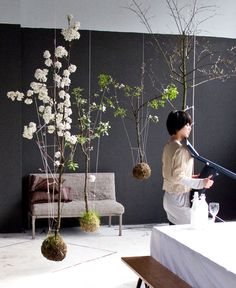 A beautiful display - string garden #eco #haven #inspiration