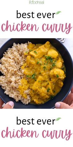 Easy Curry Sauce, Chicken Curry Sauce, Best Chicken Curry Recipe, Quick Chicken Curry, Yellow Curry Recipe, Healthy Curry Recipe, Curry Chicken And Rice, Easy Chicken And Rice, Coconut Curry Sauce