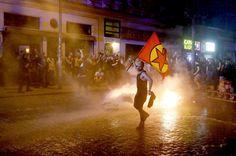 Risultati immagini per scontri ad amburgo