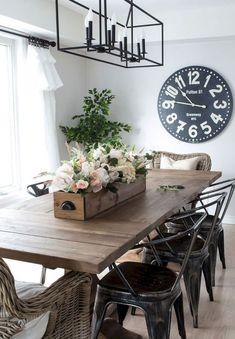 28 Best Farmhouse Dining Room Decor and Design Ideas