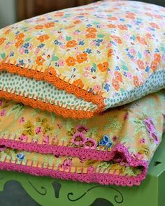 Little Pieces of My Life: Not your Grandma's pillowcases