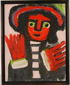 Man With Red Hands