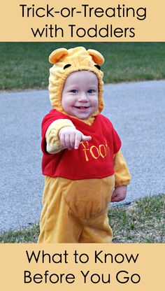 Trick Or Treating With A Toddler Read This First