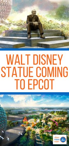 There is a statue of Walt Disney in at least one park in every single Walt Disney Resort worldwide, and now there is also a new Walt Disney statue coming to EPCOT! Read this post from Ziggy Knows Disney to learn all the detail about this cool new spot. #disney #disneyworld #disneyattractions #Epcot #disneystatues