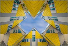 Kubuswoningen in Rotterdam van architect Piet Blom© Cor Boers, Netherlands, Entry, Architecture Category, Open Competition, 2015 Sony World Photography Awards