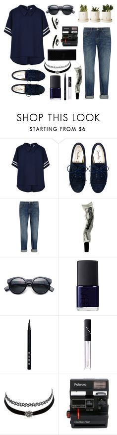 """""""James Dean Daydream//"""" by neverland-lives ❤ liked on Polyvore featuring dVb Victoria Beckham, Aesop, NARS Cosmetics, Bobbi Brown Cosmetics, Charlotte Russe, Polaroid and Gucci"""