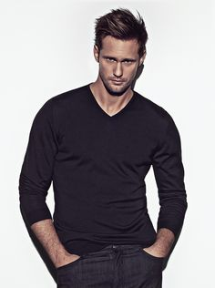 Alexander Skarsgard. Eric Northman, yes please.