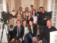 The cast and crew of Design 101