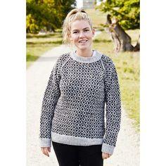 Færøsk Sweater Dame Strikkekit