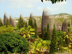 THE GREEN GUERILLA COLLECTION   SPRING 2013  FEATURED ARCHITECT   Renzo Piano   Centre culturel Tjibaou