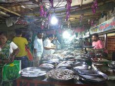 Macchi bazaar. A fish market in Pune