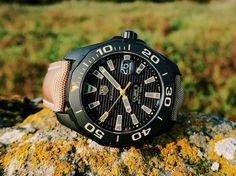 TAG Heuer Aquaracer 300 Caliber 5 Titanium WAY208C Watch