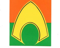 Aquaman Logo Scrapbook Die-cut