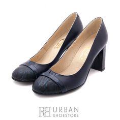 Pantofi eleganti din piele naturala - 784-22 blue Peeps, Peep Toe, Shoes, Box, Fashion, Elegant, Snare Drum, Shoes Outlet, Fashion Styles