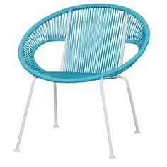 Living & Co Replica Acapulco Chair Blue $49