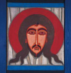 jerzy-nowosielski ikona chrystusa