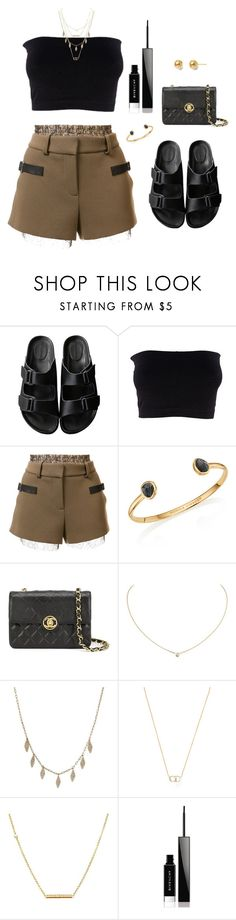 """""""Untitled #489"""" by katiemarte ❤ liked on Polyvore featuring American Rag Cie, Vera Wang, Monica Vinader, Chanel, Cartier, Christian Dior, Dutch Basics and Givenchy"""