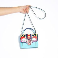 Total Arm Candy by Paula Cademartori  #MatchesXCovetMe #covetme I love #bright bags like this
