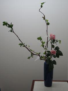 My Ikebana at Ohara school