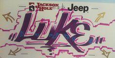 Loki Luke Graffiti Tag