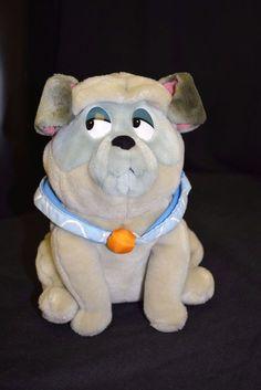 "Applause Disney Pocahontas Percy Pug Dog Plush Stuffed Animal 9"" 1990's Toy #Applause"