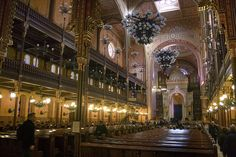 Hungary 2010_Budapest 07_ Great Synagogue, interior by takacsi75, via Flickr