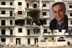 SYRIA: Norsk-syriske Mohamad Hagy Jaman (58) har daglig kontakt med venner og slektninger i borgerkrigsherjede Syria. Lørdag ble hans gamle nabolag bombet.  En million mennesker anslås å ha flyktet til nabolandene Tyrkia, Irak, Jordan og Libanon. I tillegg er et ukjent antall mennesker på flukt internt i Syria. En ny rapport fra Leger uten grenser, slår fast at minst 6,8 millioner syrere har behov for akutt medisinsk oppfølging. - VG.no Syria Conflict, Aleppo, Photo Wall, Image, Google, Pasta, Syria, Fotografia, Middle East