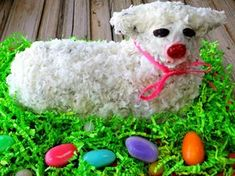 10 Tips For The Perfect Retro Easter Lamb Lambie Cake