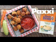 Ρυζομπαλίτσες με λαχανικά & σπιτική κέτσαπ - ΔΙΑΓΩΝΙΣΜΟΣ - Paxxi (Ε202) - YouTube Kid Friendly Meals, Pretzel Bites, Ketchup, Sausage, Food And Drink, Bread, Snacks, Dinner, Vegetables