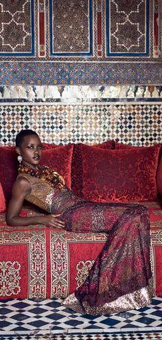 STUNNING image!! Lupita Nyongo | Vogue July 2014 | cynthia reccord