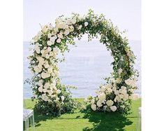 Metal Wedding Arch, Wedding Ceremony Arch, Outdoor Ceremony, Wedding Day, Metal Arch, Wedding Arches, Wedding Ceremonies, Trendy Wedding, Luxury Wedding