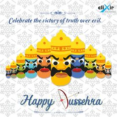 #ElixirWebSolutions wishes you a happy #Dussehra !! Celebrate the victory of good over Evil with  #VijayaDashami .