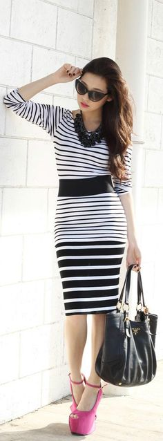 WAGW top, Windsor skirt, DAS heels, Zero UV sunglasses, SM Accessories necklace, Prada bag.- love it minus the heels :-P