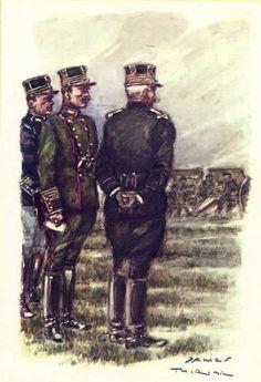 Belgian Officers 1912 - Officiers généraux et corps d'Etat-Major 1912.