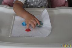 Pintura sem sujeira para bebê Plastic Cutting Board, Montessori, Day Care Activities, Homemade Gifts, Pranks, Activity Toys, Sons, School, Fingers