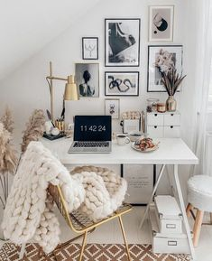 Home Office Design, Home Office Decor, Home Interior Design, Home Decor, My New Room, My Room, Room Ideas Bedroom, Bedroom Decor, Decoration Design