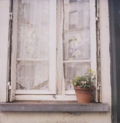 window sill in montmartre