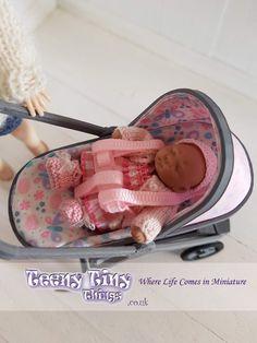 Barbie Dolls Diy, Barbie Kids, Barbie And Ken, Diy Doll, Miniature Crafts, Miniature Dolls, Girl Toys, Toys For Girls, Small Baby Dolls