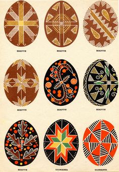 Pysanka is the Ukrainian art of decorating eggs via present+correct blog