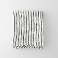 Steven Alan | TICKING STRIPE WOOL BLANKET