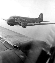 C-47's 71st Troop Carrier Squadron for Daytime Supply Mission.
