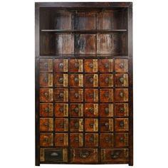 19th Century Chinese Apothecary Cabinet